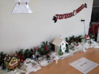 Décoration de Noël à...